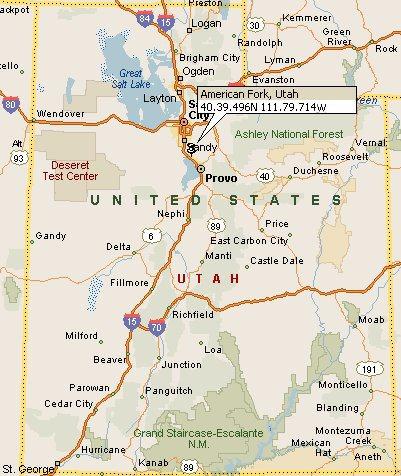 American Fork, Utah Map 4