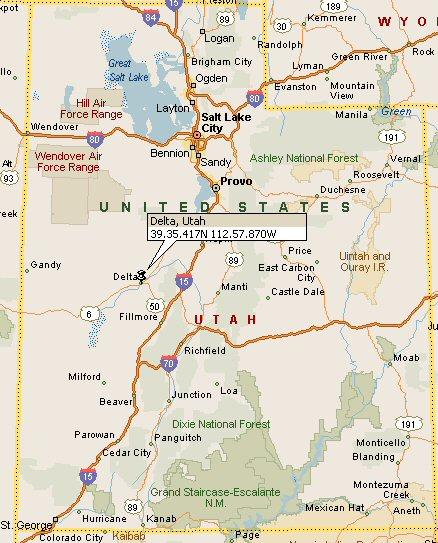 Delta Utah Map 4