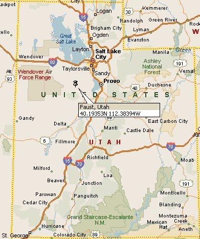 Faust Utah Map 4