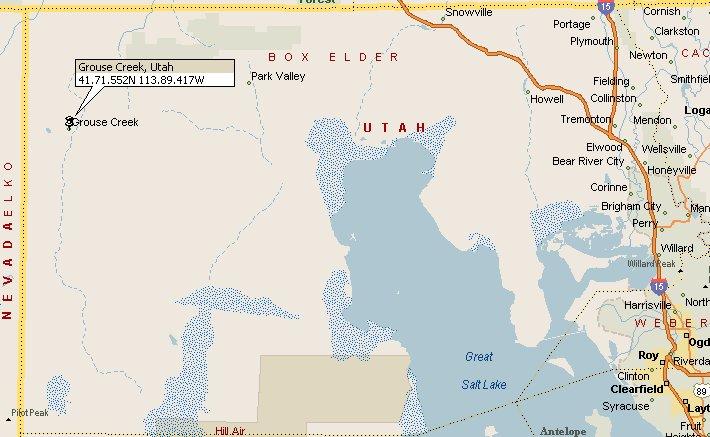 Grouse Creek Utah Map.Grouse Creek Utah Map 2