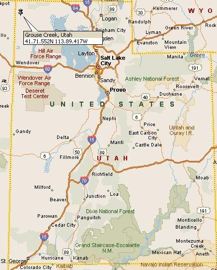 Grouse Creek Utah Map.Grouse Creek Utah Map 4