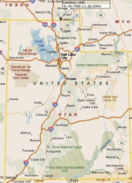 Lewiston Utah Map 4