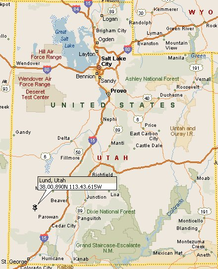 Lund Utah Map 4