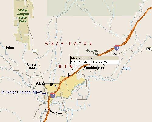 Middleton Utah Map