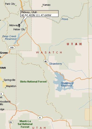 Midway Utah Map 2