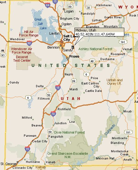 Midway Utah Map 4
