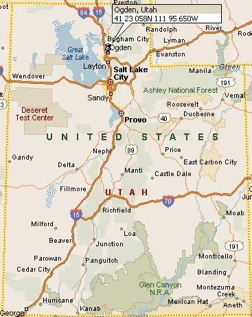 Ogden Utah Map 4