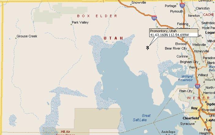 Promontory Point, Utah Map 2