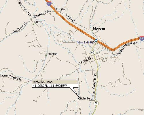 Richville Utah Map 1