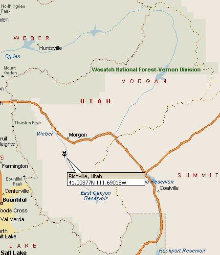 Richville Utah Map 2