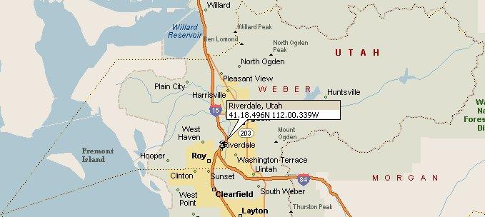 Riverdale Utah Map 2