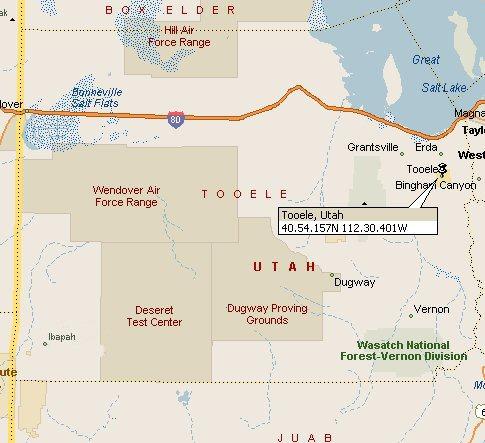 Tooele Utah Map 2