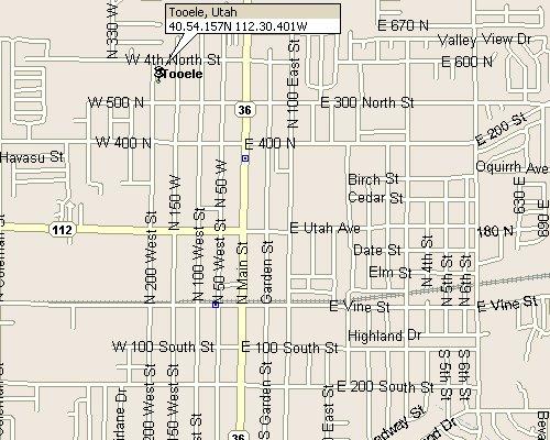 Tooele Utah Map 3