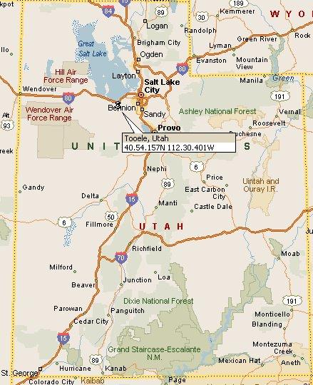 Tooele, Utah Map 4