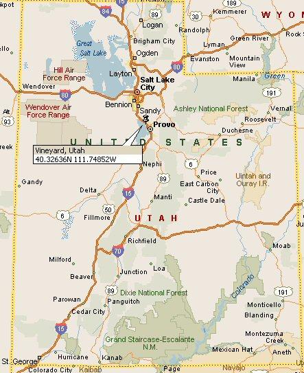 Vineyard, Utah Map 4
