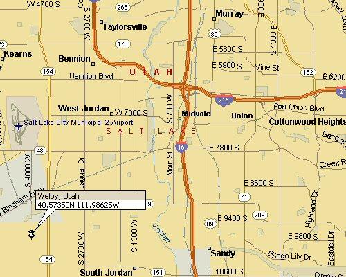 Property Plat Map Salt Lake County