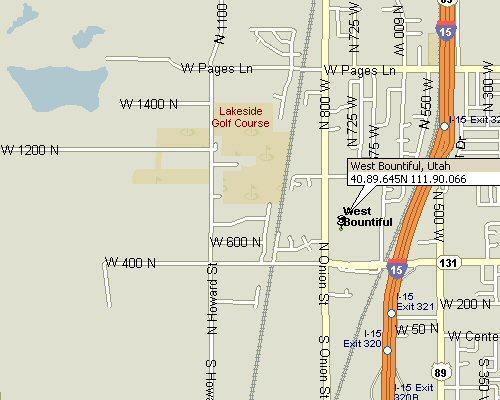West Bountiful Utah Map 3