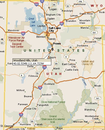 Woodland Hills, Utah Map 4